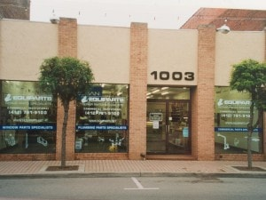 In 2003, we moved our counter and parts inventory a few blocks down the street to 1003 Main Street.
