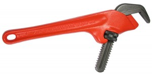 Offset Non-Marking Pipe Wrench