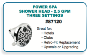 oxygenics powers showerhead