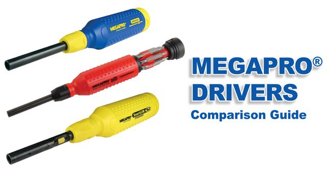 Megapro Screwdriver Comparison Guide