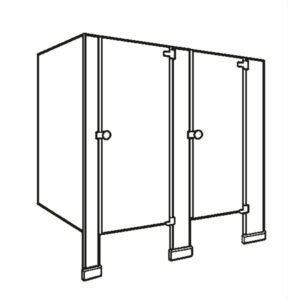 Floor Supported Partition