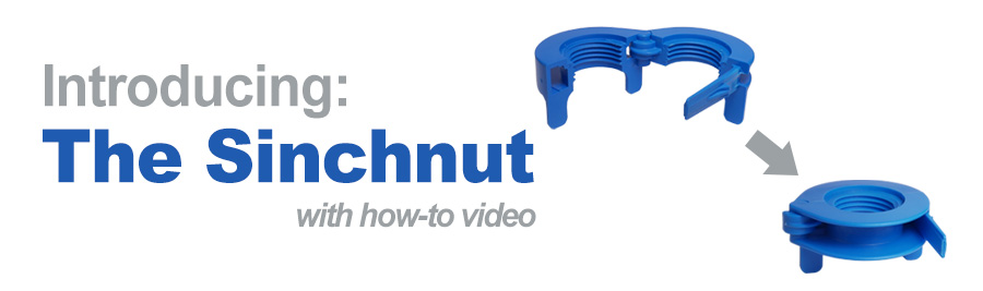 Sinchnut New Faucet Shank Lock Nut