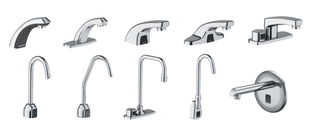 Sloan Optima smart faucet models
