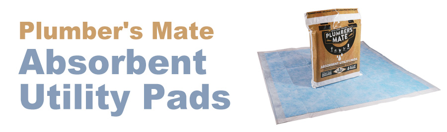 Plumbers Mate Absorbent Pads