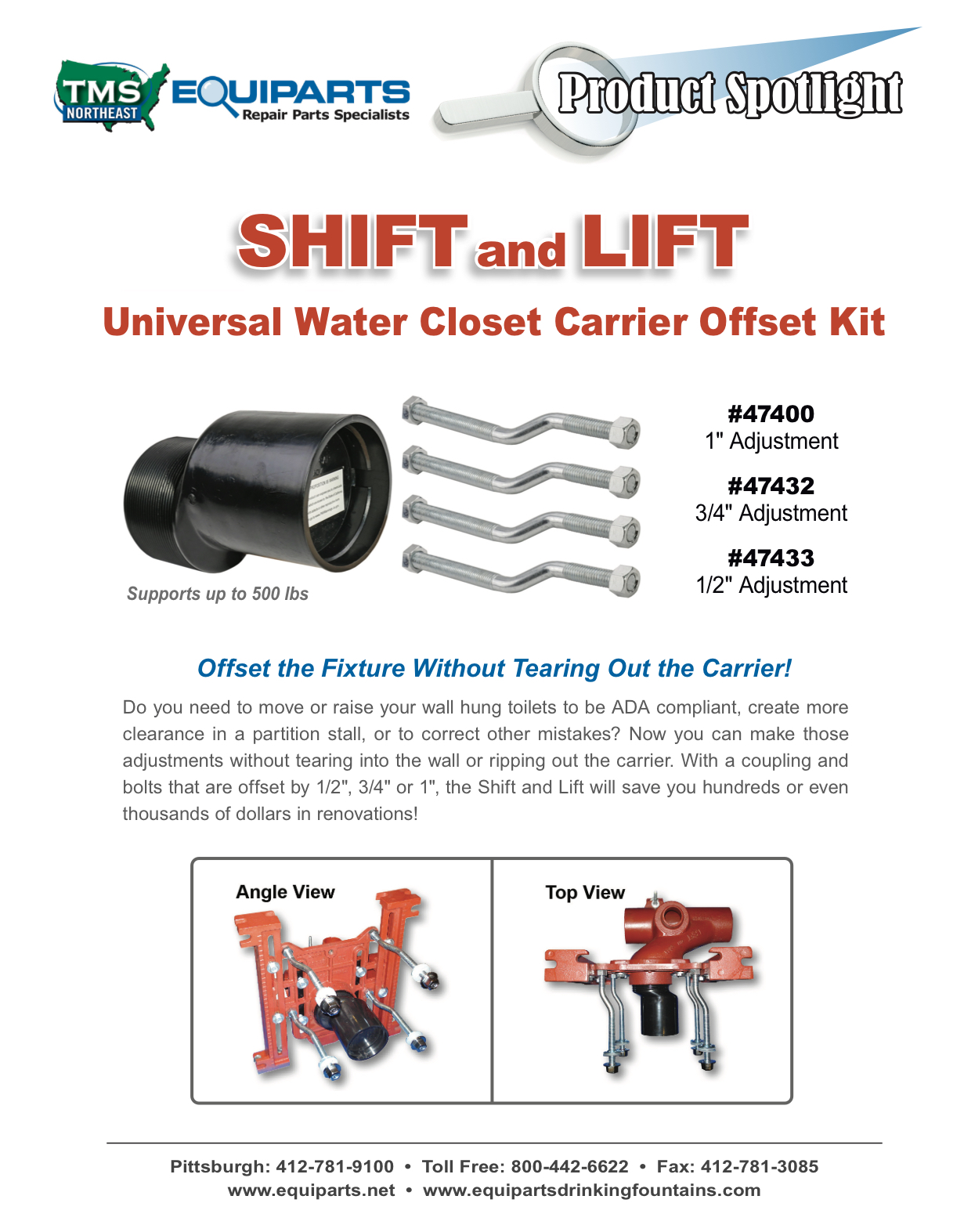 Mifab Shift and Lift Product Spotlight PDF