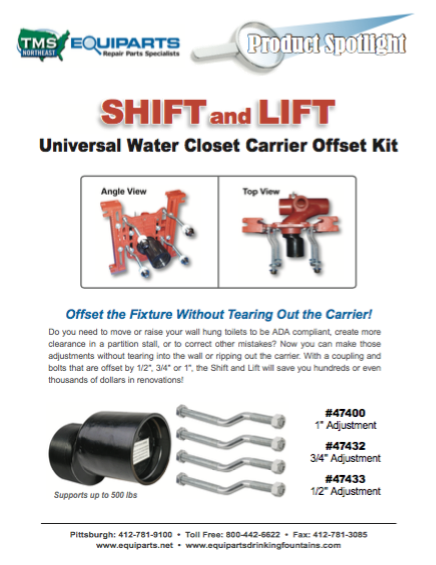 Mifab Shift and Lift Product Spotlight Image