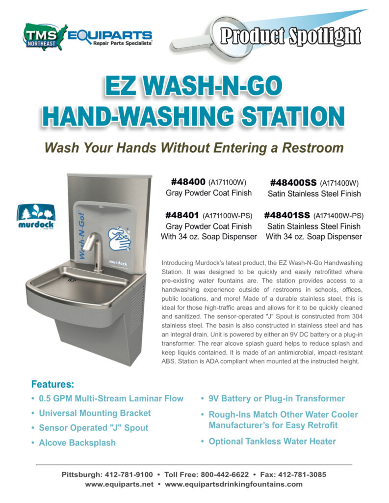 Hand Washing Station Product Spotlight PDF